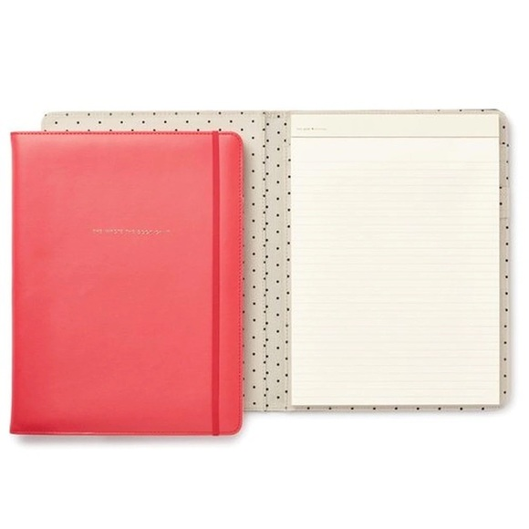 kate spade Other - Kate Spade Notepad Folio She Wrote the Book on it